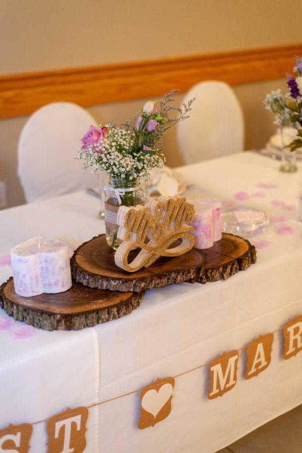lasila head table setting